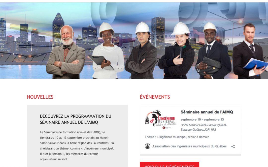 Nouveau site de l'AIMQ